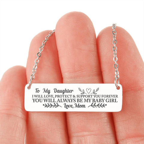 [EXCLUSIVE] To My Daughter Necklace - FREE + SHIPPING