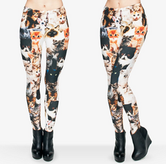 Designer Cat Leggings