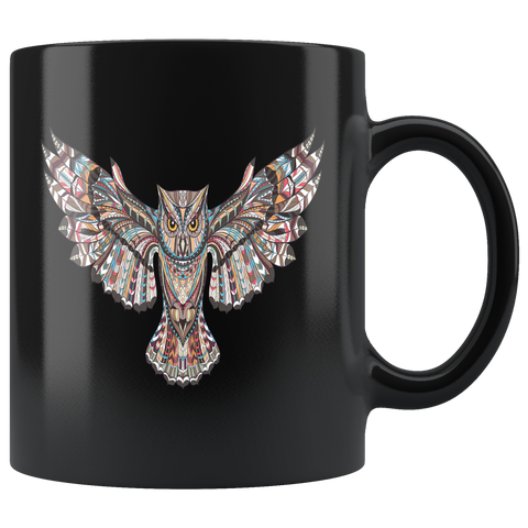 Owl Mug - I AM FIERCE !
