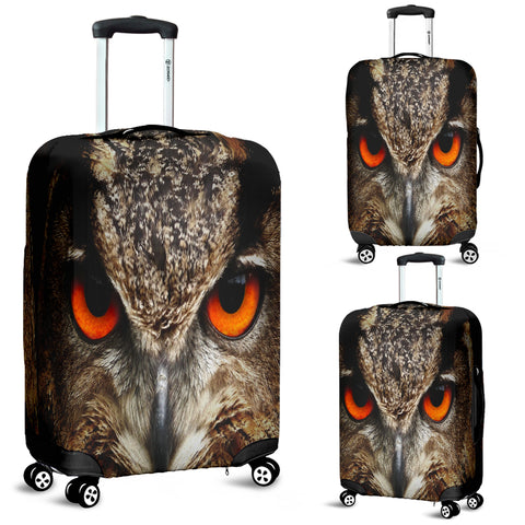 Owlsome Look Luggage Covers