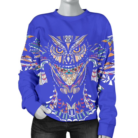 Blue Owl Sweater