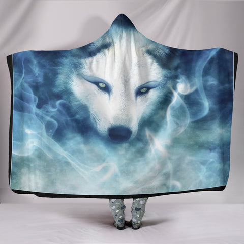 Wolf Phantom Hooded Blanket
