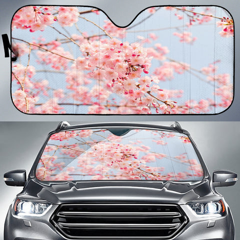 Cherry Blossoms Auto Sun Shade
