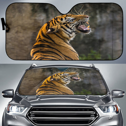 Wild Tiger Auto Sun Shade - Express Shipping
