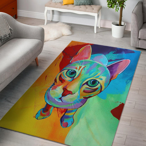 Love My Cat Perfect Designer Rug