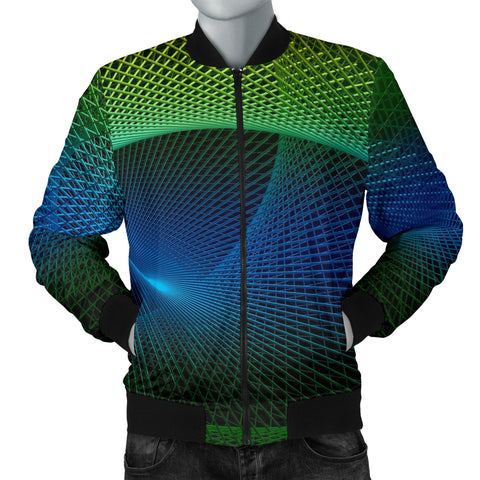 Fractals Men's Bomber Jacket