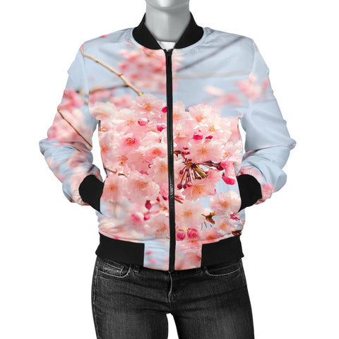 Cherry Blossoms Women's Bomber Jacket