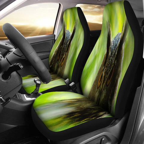 Barn Owl Car Seat Cover