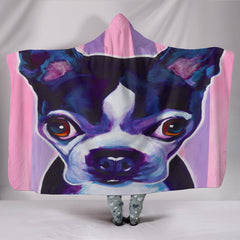 Love My Chihuahua Hooded Blankets