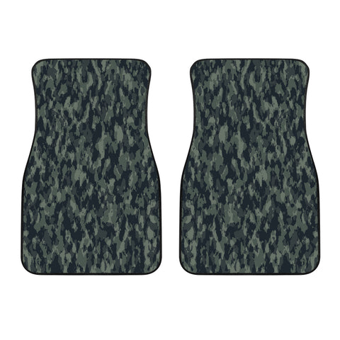 Forest Camouflage Front Car Mats