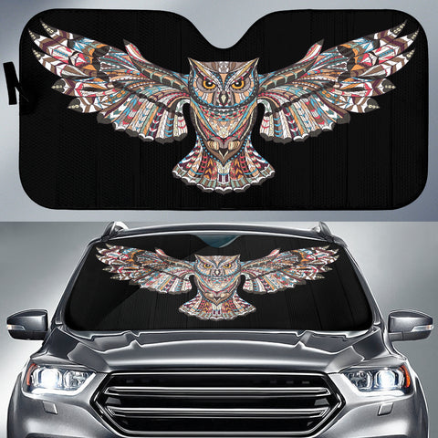 Fierce Owl Auto Sun Shade -  Express Shipping