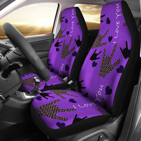 I Love You Car Seat Covers