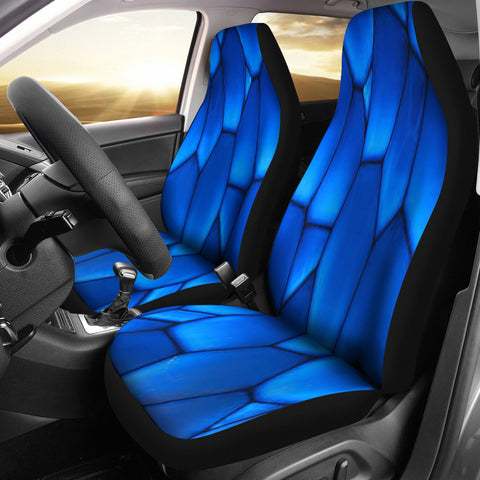 Sudsy Blue Car Seat Covers
