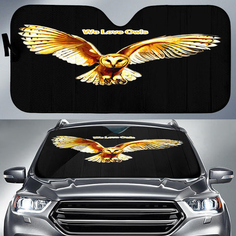 Owl Auto Sun Shade - Express Shipping