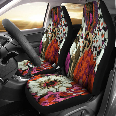 Flowers Bloom In May Car Seat Covers