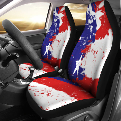 Love America Car Seat Covers