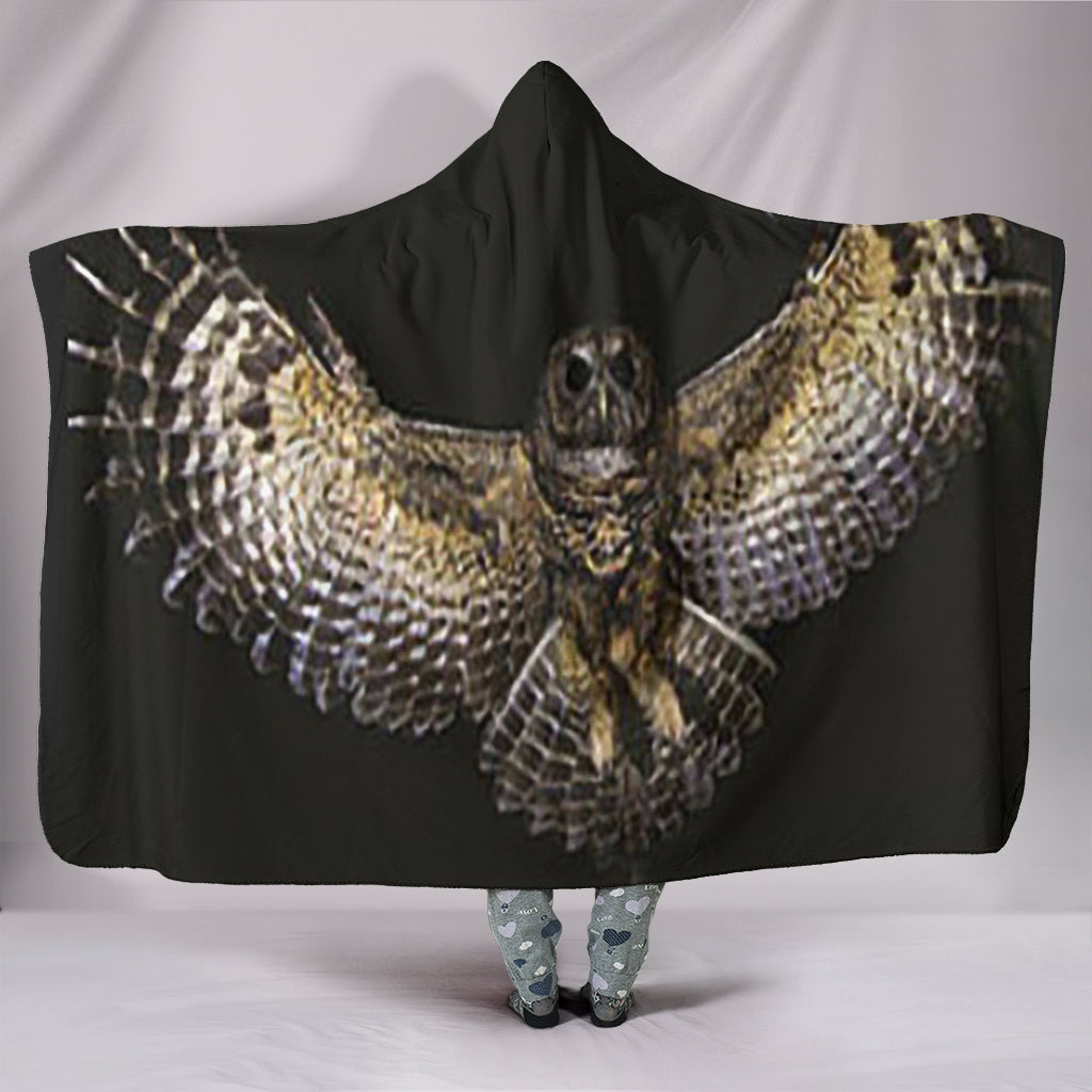 Brown Owl Hood Blacket