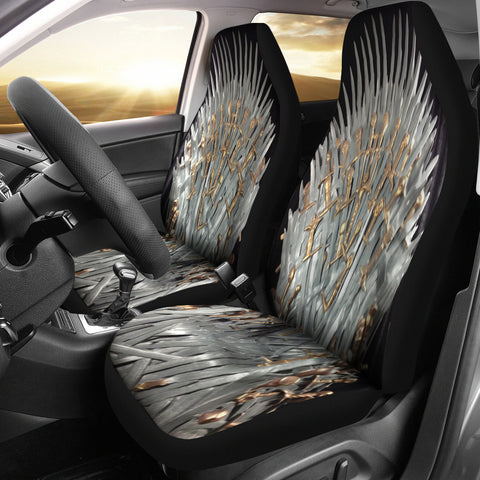 Throne Of Swords Car Seat Cover