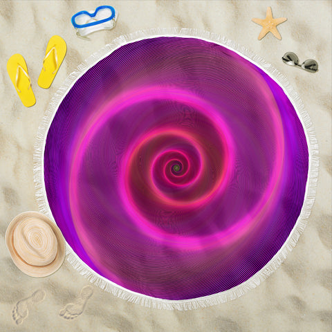 Beautiful Swirl Beach Blanket