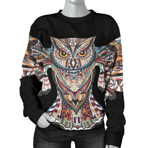 Fierce Owl Sweater