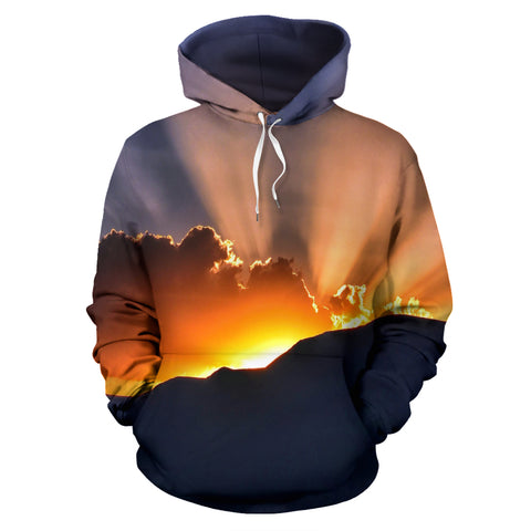 Sun's Rays Pullover Hoodie