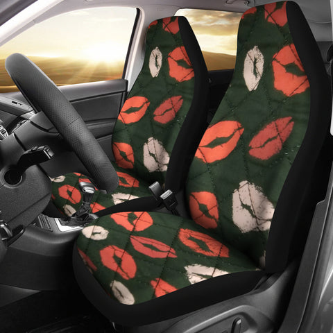 Many Kisses Car Seat Covers