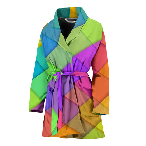 Love Pastel Colors Women's Bath Robe