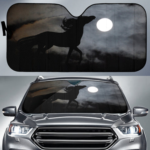 Moon Horse Auto Sun Shade -  Express Shipping