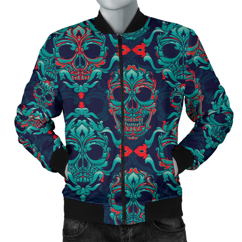 Skull Men's Bomber Jacket