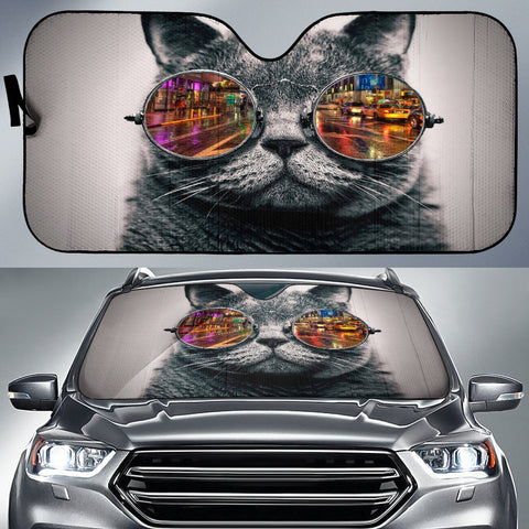 Cat Auto Sun Shade - Express Shipping