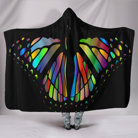 Monarch Wings Hooded Blankets