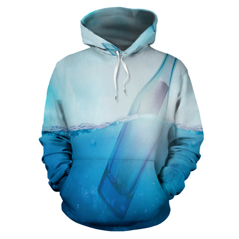 Letter In A Bottle Pullover Hoodie