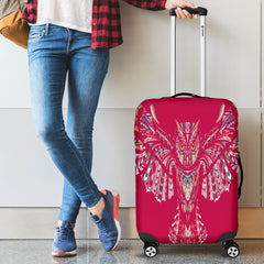 Fierce In Pink Owl Luggage Covers