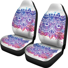 Owl Face Car Seat Covers - Express Shipping