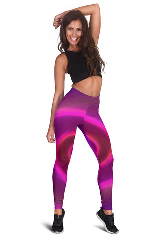 Women's Swirly Leggings
