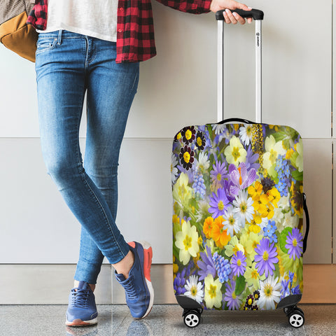 Beautiful Flowers Luggage Covers