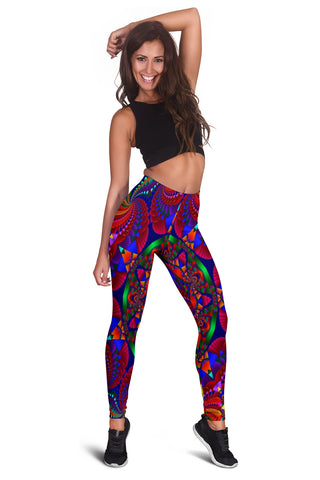 Women's Colorful Mandala Leggings