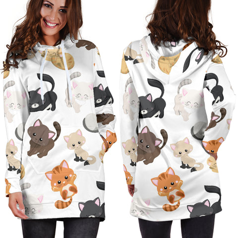 Kitty Kat Hoodie Dress