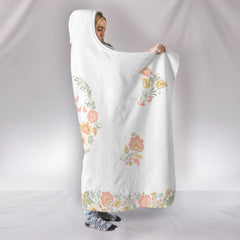 Best Mom Promoted to Mawmaw Hooded Blanket