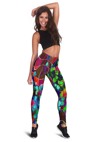 Women's Abstract Art Leggings