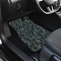 Forest Camouflage Front And Back Car Mats