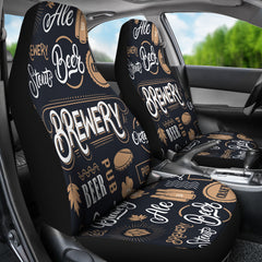 Brewery Car Seat Covers