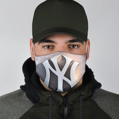 NY Brick Wall Face Mask