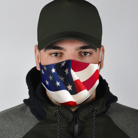 USA Flag Filter Mask