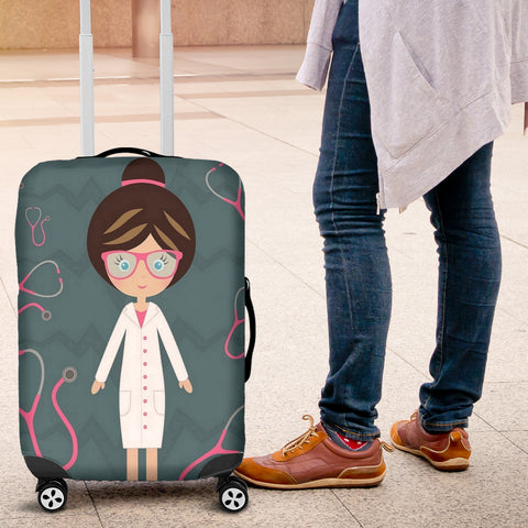 Nurse Stethoscope Luggage Covers
