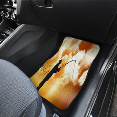 Fishing Is Life Front And Back Car Mats