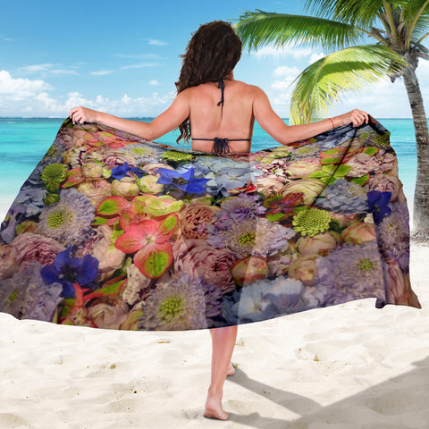 Beautiful Flowers Sarong