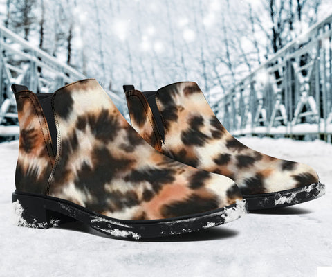 Owl Feather Fashion Boots