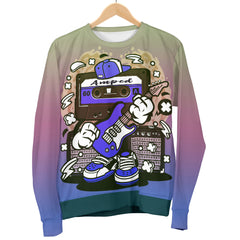 Amped Guitar Sweater for Musicians and Music Freaks