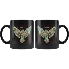 FIERCE Owl Mug - Green